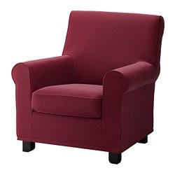 ikea grnlid fauteuil amovible la housse est facile dentretien et passe la - Fauteuil En Tissu