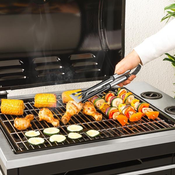 GRILLTIDER ustensiles barbecue, 3 pièces