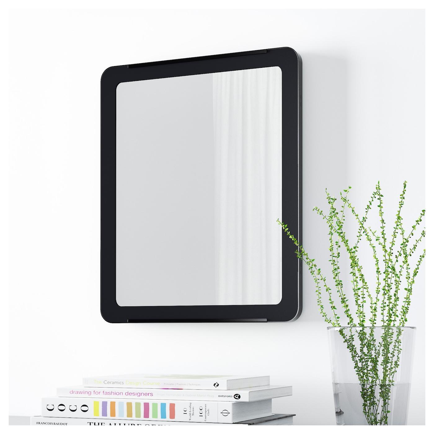 grua miroir noir 45x55 cm ikea. Black Bedroom Furniture Sets. Home Design Ideas