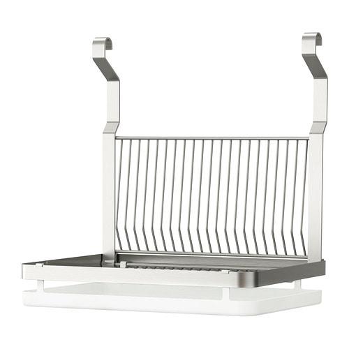 GRUNDTAL Égouttoir à vaisselle Acier inoxydable 35x26 cm - IKEA