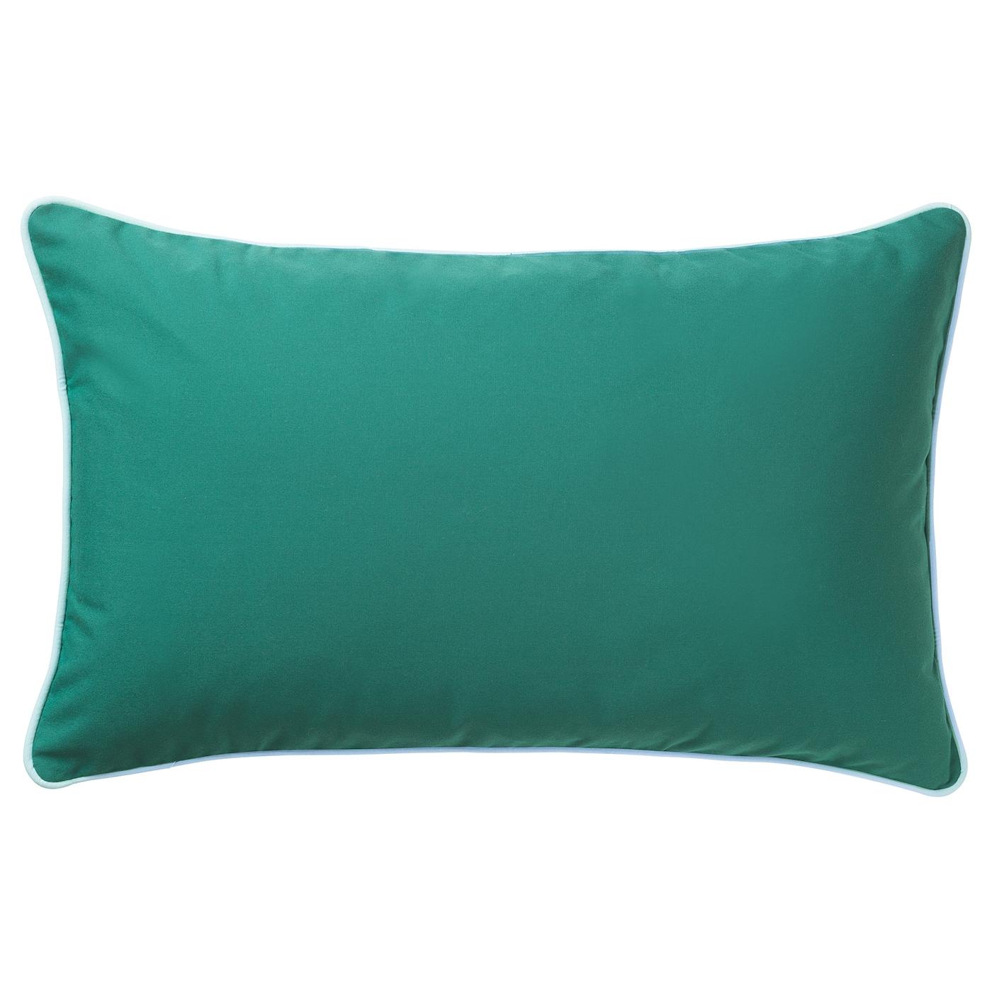 Gullingen housse de coussin int rieur ext rieur turquoise for Interieur coussin