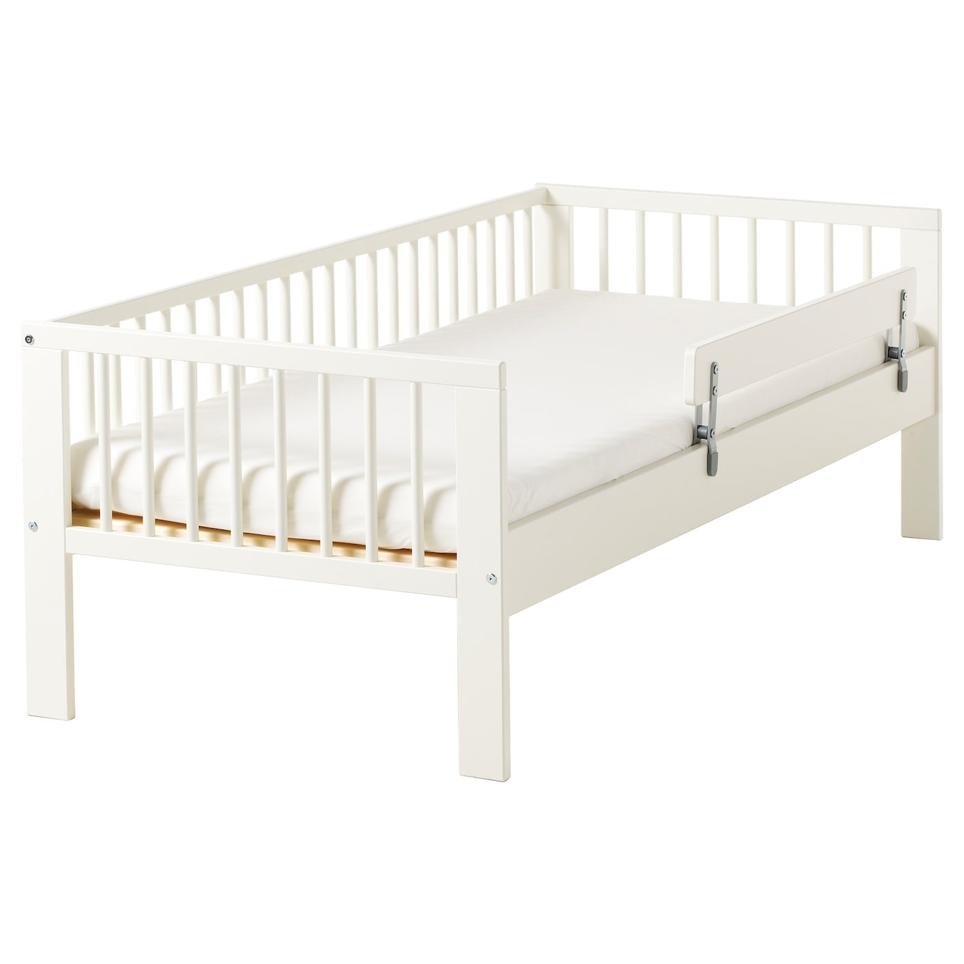 gulliver cadre lit sommier lattes blanc 70x160 cm ikea. Black Bedroom Furniture Sets. Home Design Ideas