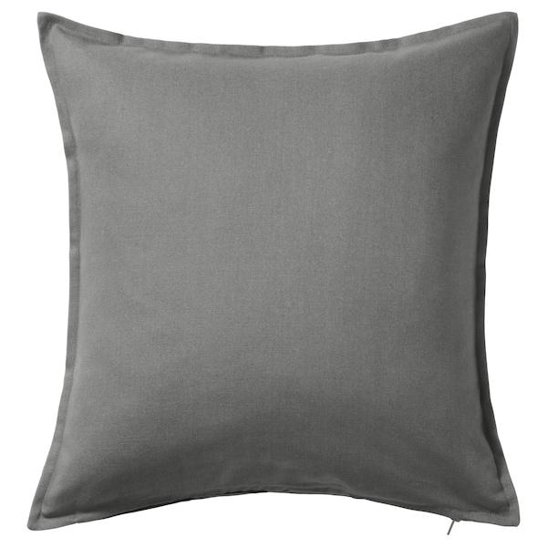 GURLI Housse de coussin, gris, 50x50 cm