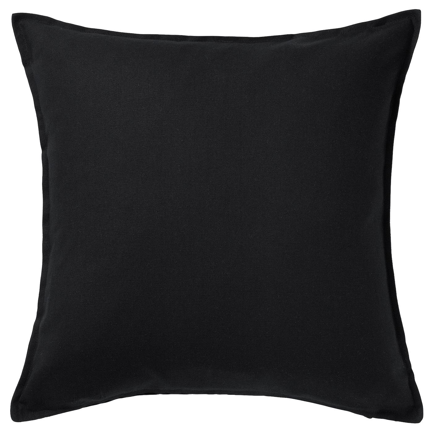 turill coussin blanc noir 40 x 40 cm ikea. Black Bedroom Furniture Sets. Home Design Ideas
