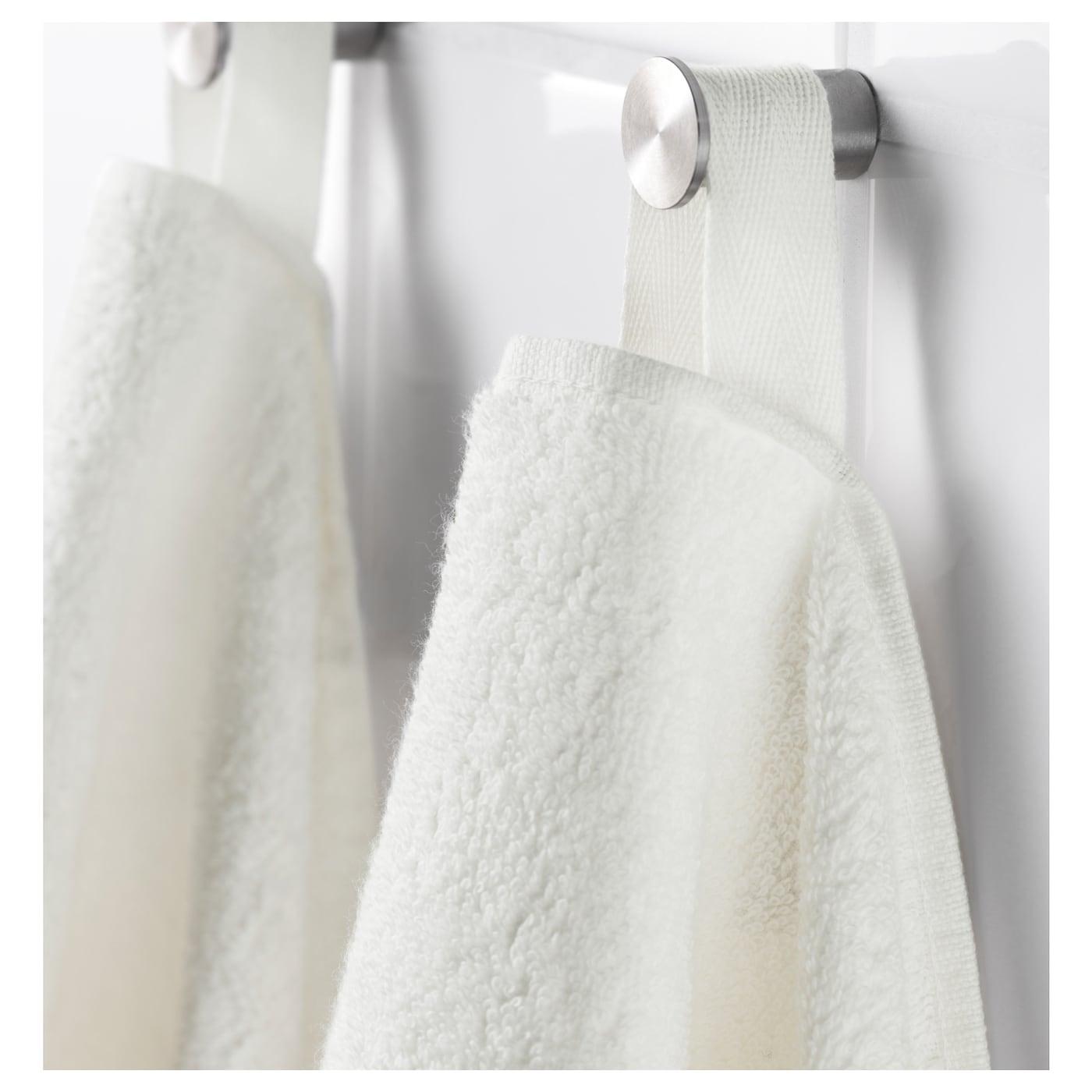 h ren drap de bain blanc 70x140 cm ikea. Black Bedroom Furniture Sets. Home Design Ideas