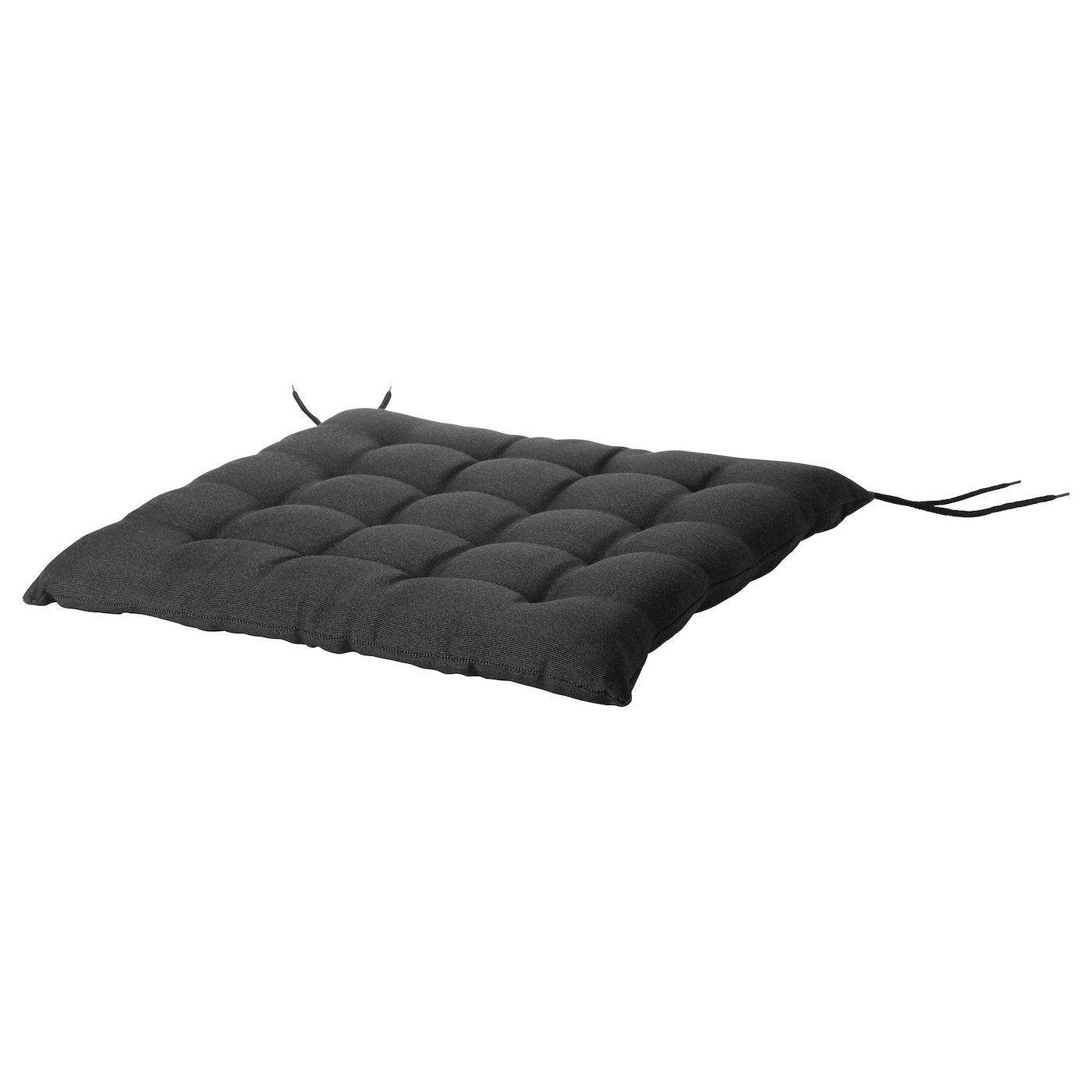h ll coussin de chaise ext rieur noir 50 x 50 cm ikea. Black Bedroom Furniture Sets. Home Design Ideas
