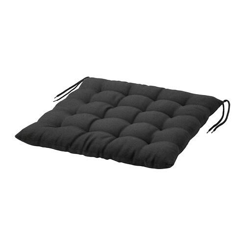HLL Coussin De Chaise Extrieur Noir 50 X 50 Cm