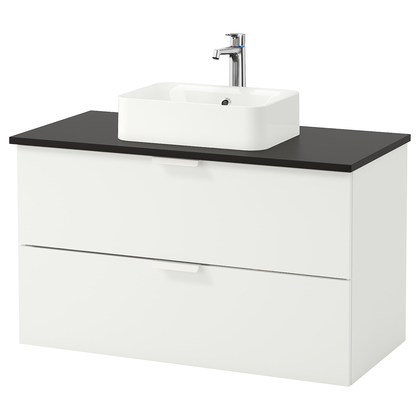 h rvik godmorgon tolken meuble lavabo av lav poser 45x32 blanc anthracite 102 x 49 x 72 cm ikea. Black Bedroom Furniture Sets. Home Design Ideas