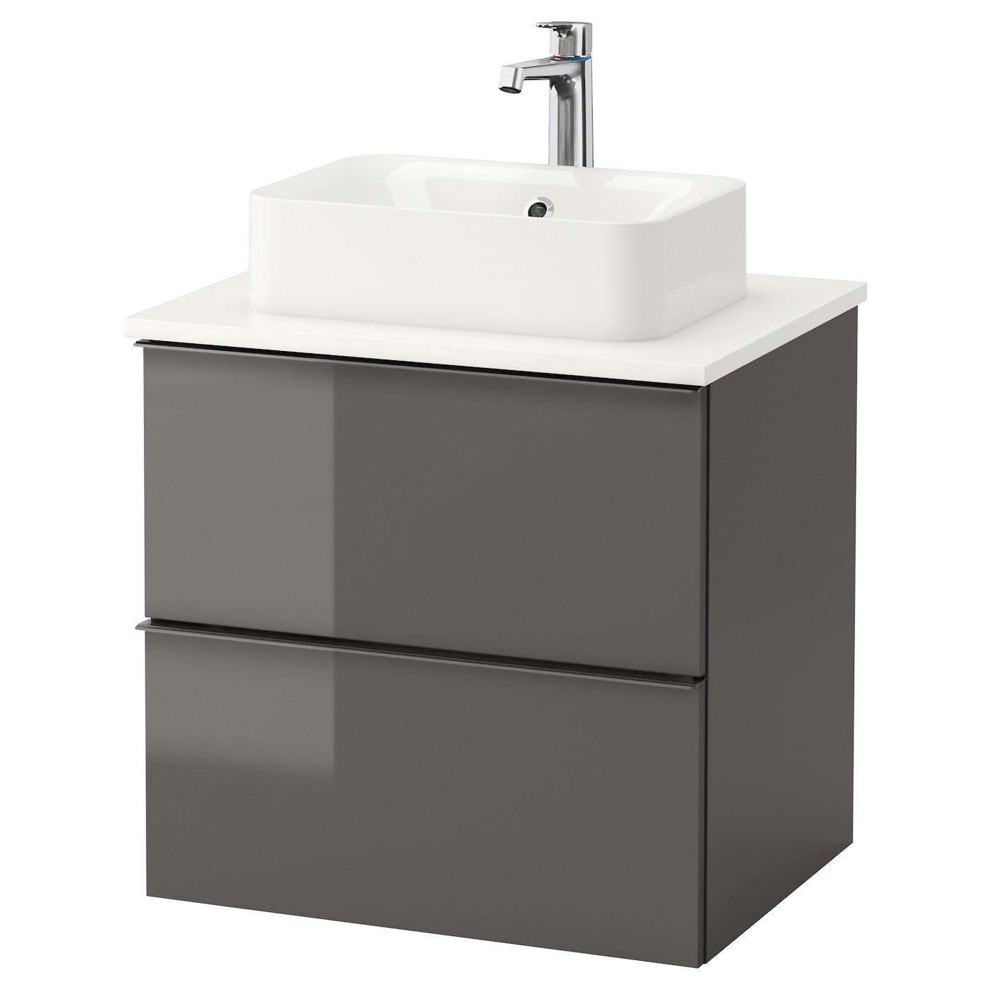 IKEA HRVIK GODMORGON TOLKEN Meuble Lavabo Av Lav Poser 45x32