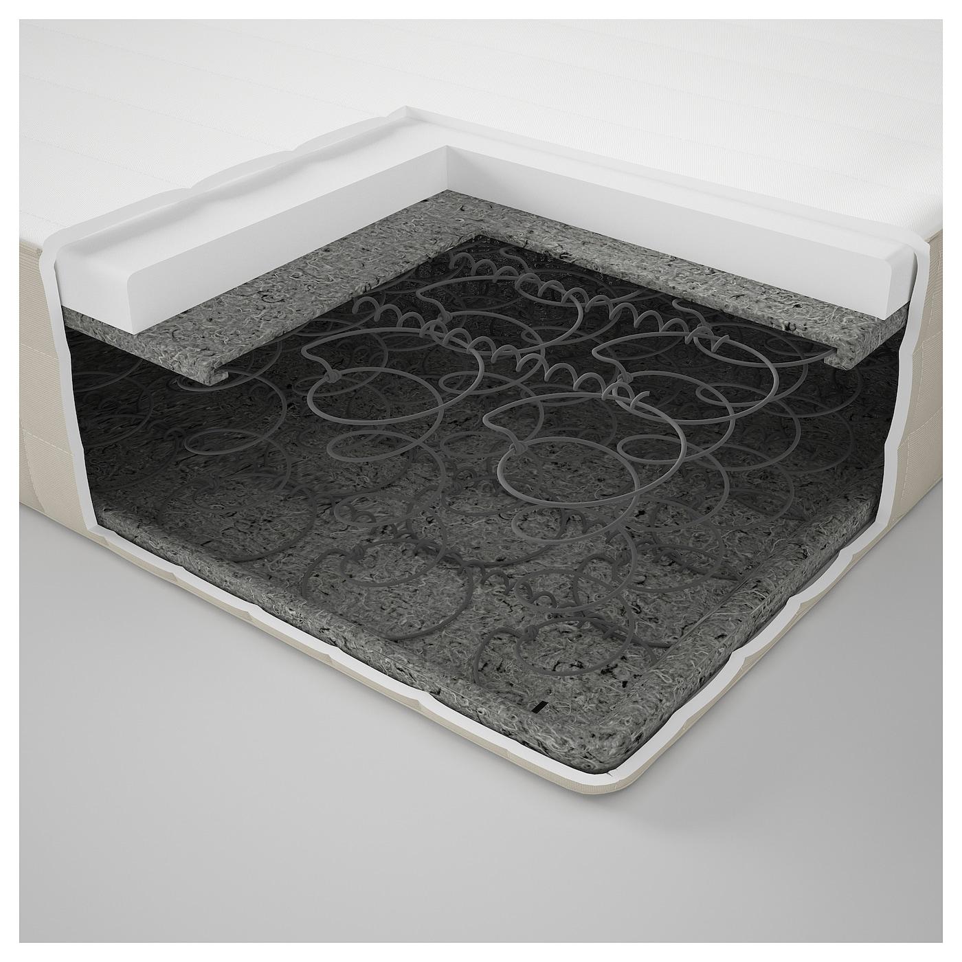 hafslo matelas ressorts mi ferme beige 140x200 cm ikea. Black Bedroom Furniture Sets. Home Design Ideas