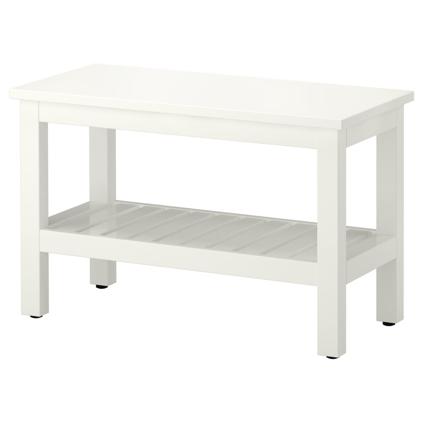 Hemnes banc blanc 83 cm ikea - Ikea suivi de commande ...