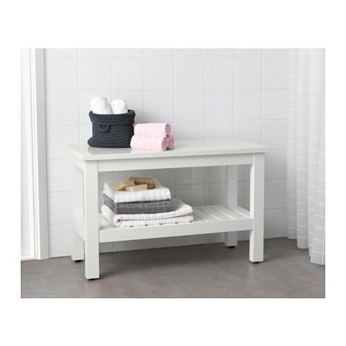 HEMNES Banc - blanc - IKEA