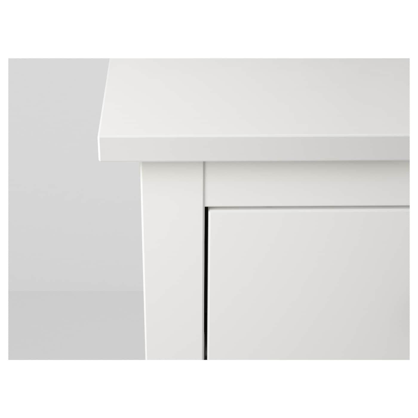 hemnes commode 2 tiroirs blanc 54 x 66 cm ikea. Black Bedroom Furniture Sets. Home Design Ideas
