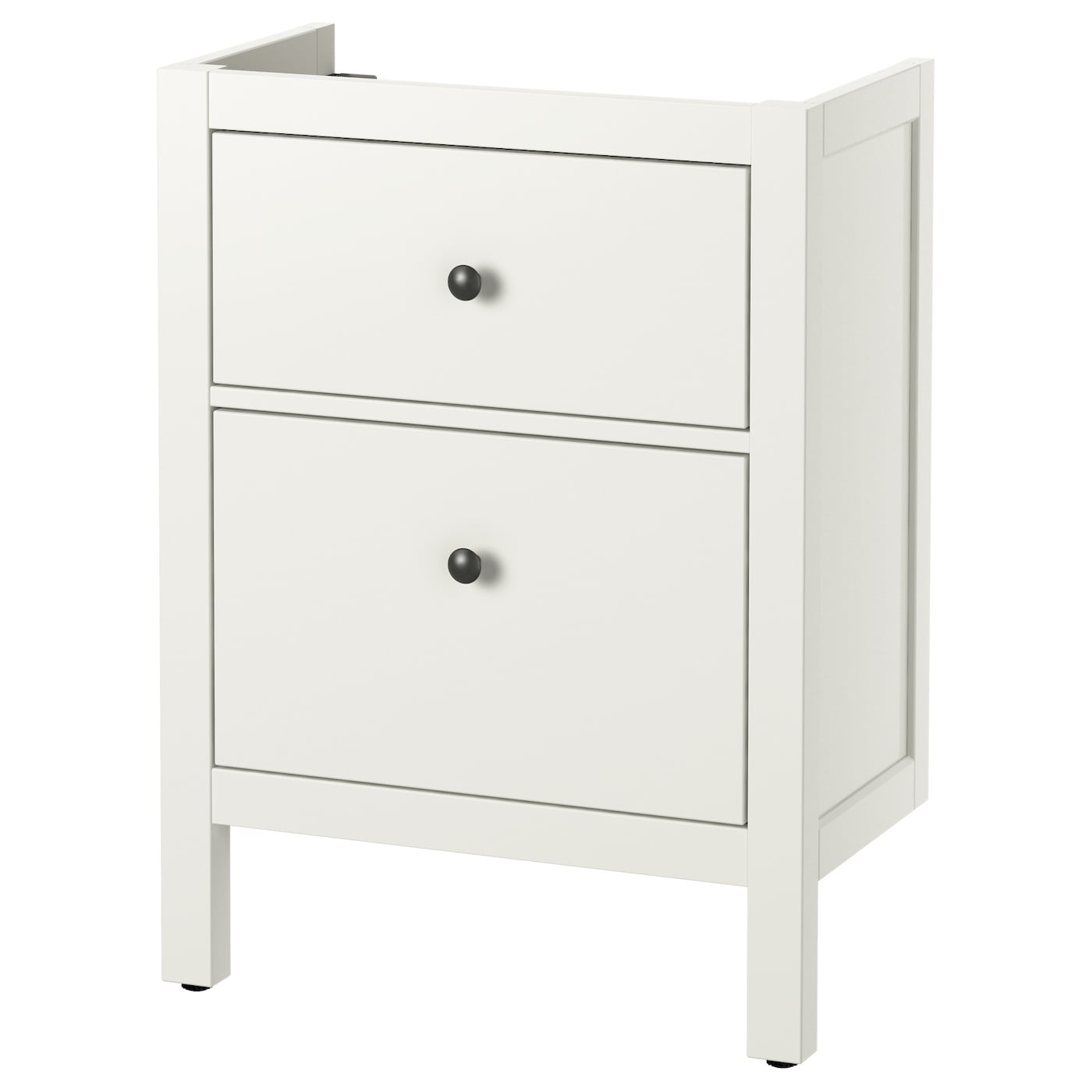 hemnes meuble lavabo 2tir blanc 60 x 32 x 83 cm ikea. Black Bedroom Furniture Sets. Home Design Ideas