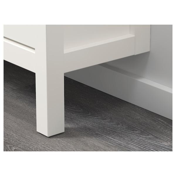 HEMNES Range-chaussures 4 casiers, blanc, 107x22x101 cm