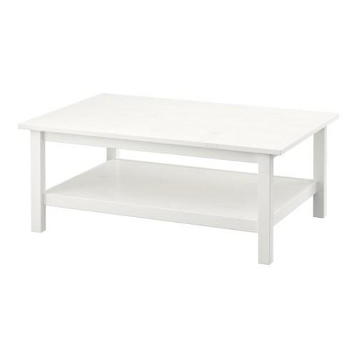 hemnes table basse teint blanc ikea. Black Bedroom Furniture Sets. Home Design Ideas