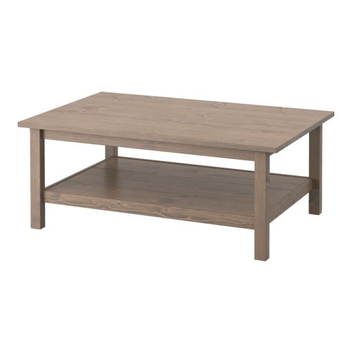 Hemnes table basse gris brun ikea - Table basse brun noir ...