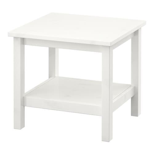 hemnes table d 39 appoint teint blanc ikea. Black Bedroom Furniture Sets. Home Design Ideas