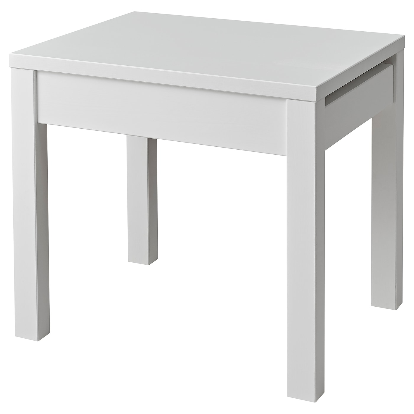 hemnes tabouret avec rangement blanc ikea. Black Bedroom Furniture Sets. Home Design Ideas