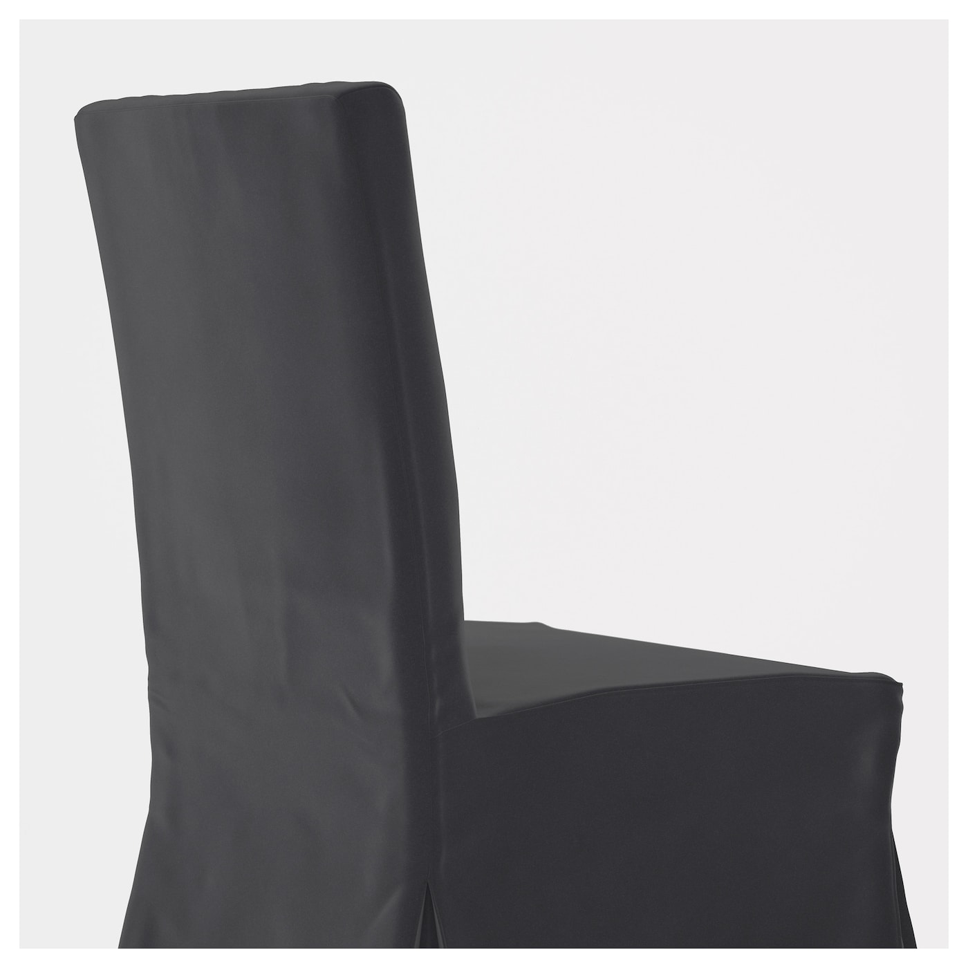 henriksdal chaise avec housse longue blanc djuparp gris fonc ikea. Black Bedroom Furniture Sets. Home Design Ideas