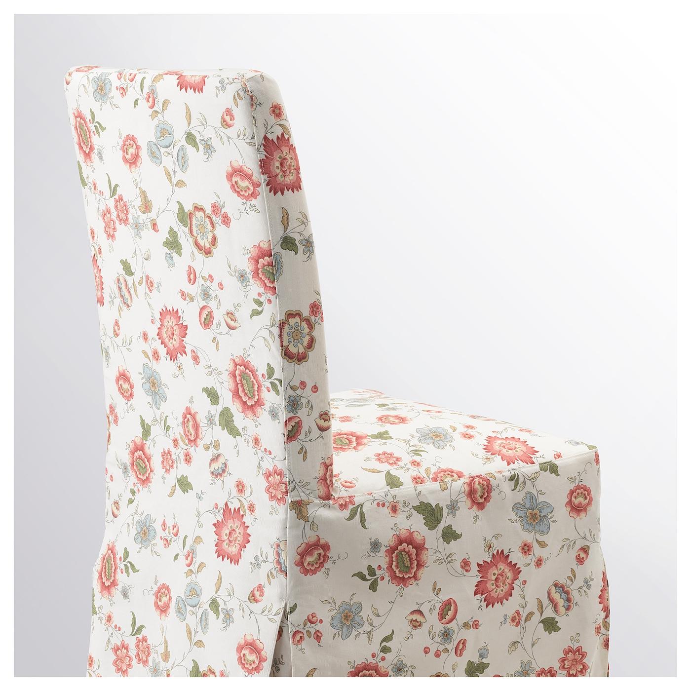 Henriksdal chaise avec housse longue bouleau videslund for Housse chaise ikea