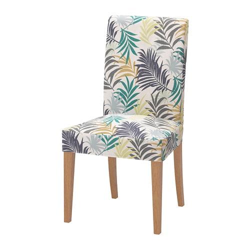 Henriksdal chaise ch ne gillhov multicolore ikea for Chaise multicolore