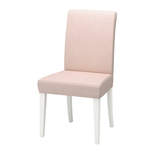 henriksdal chaise gunnared rose p le blanc ikea. Black Bedroom Furniture Sets. Home Design Ideas