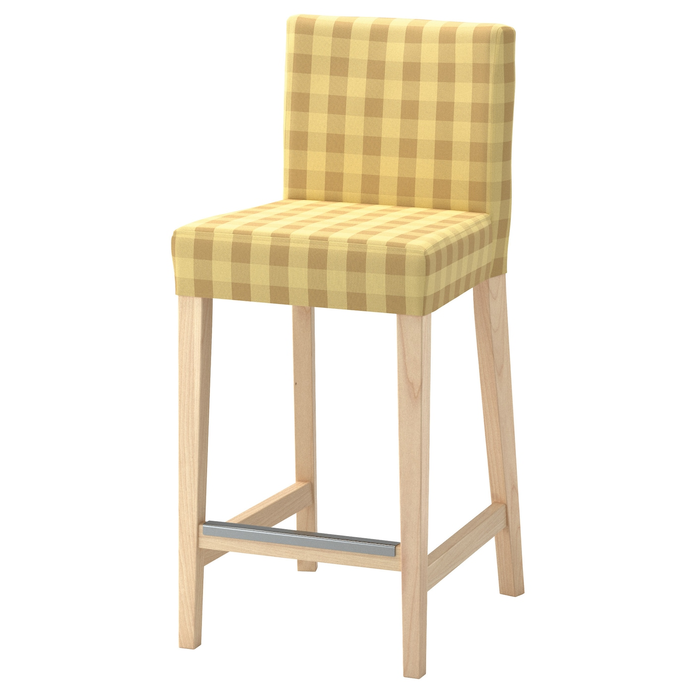 henriksdal tabouret de bar dossier bouleau skaftarp jaune 63 cm ikea. Black Bedroom Furniture Sets. Home Design Ideas