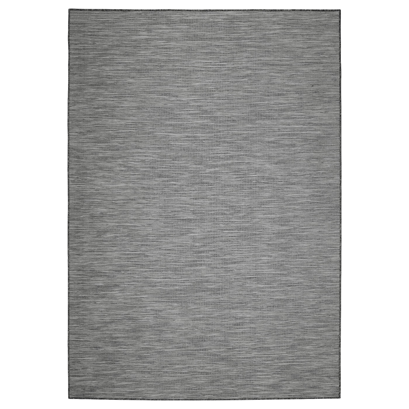 hodde tapis tiss plat int ext rieur gris noir 160x230 cm ikea. Black Bedroom Furniture Sets. Home Design Ideas