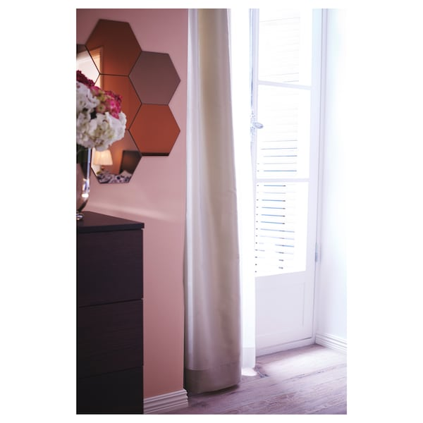 HÖNEFOSS Miroir, 18x21 cm 10 pièces