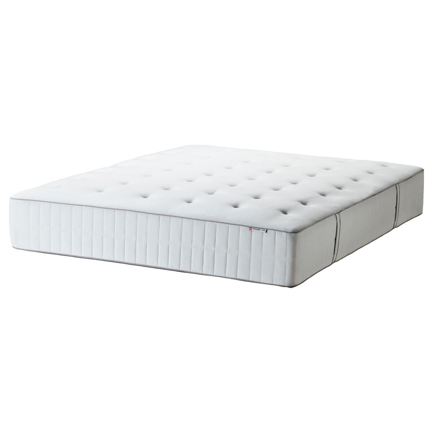 hokk sen matelas ressorts ensach s mi ferme blanc 160 x 200 cm ikea. Black Bedroom Furniture Sets. Home Design Ideas