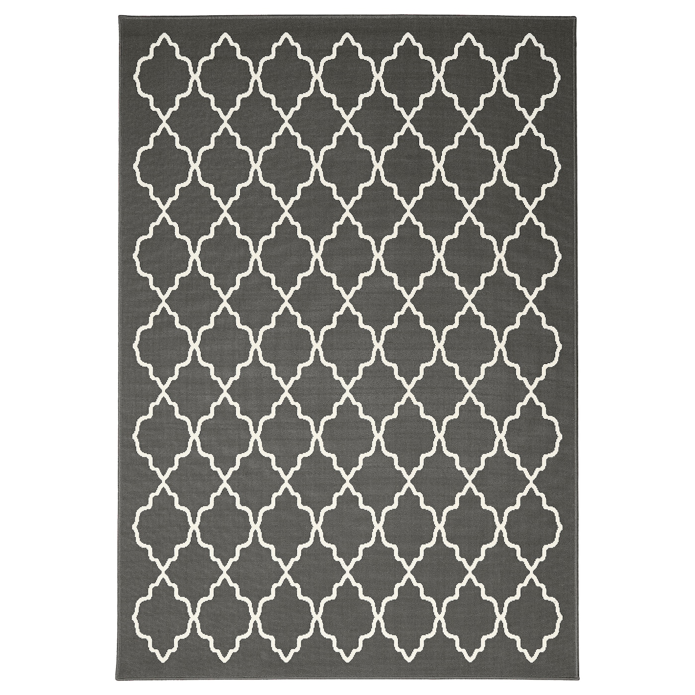 hovslund tapis poils ras gris fonc 160x230 cm ikea. Black Bedroom Furniture Sets. Home Design Ideas