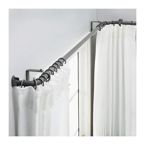 hugad combi tringle rideaux fen saillie ikea. Black Bedroom Furniture Sets. Home Design Ideas