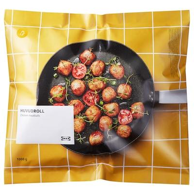 HUVUDROLL Boulettes de poulet, surgelé, 1000 g