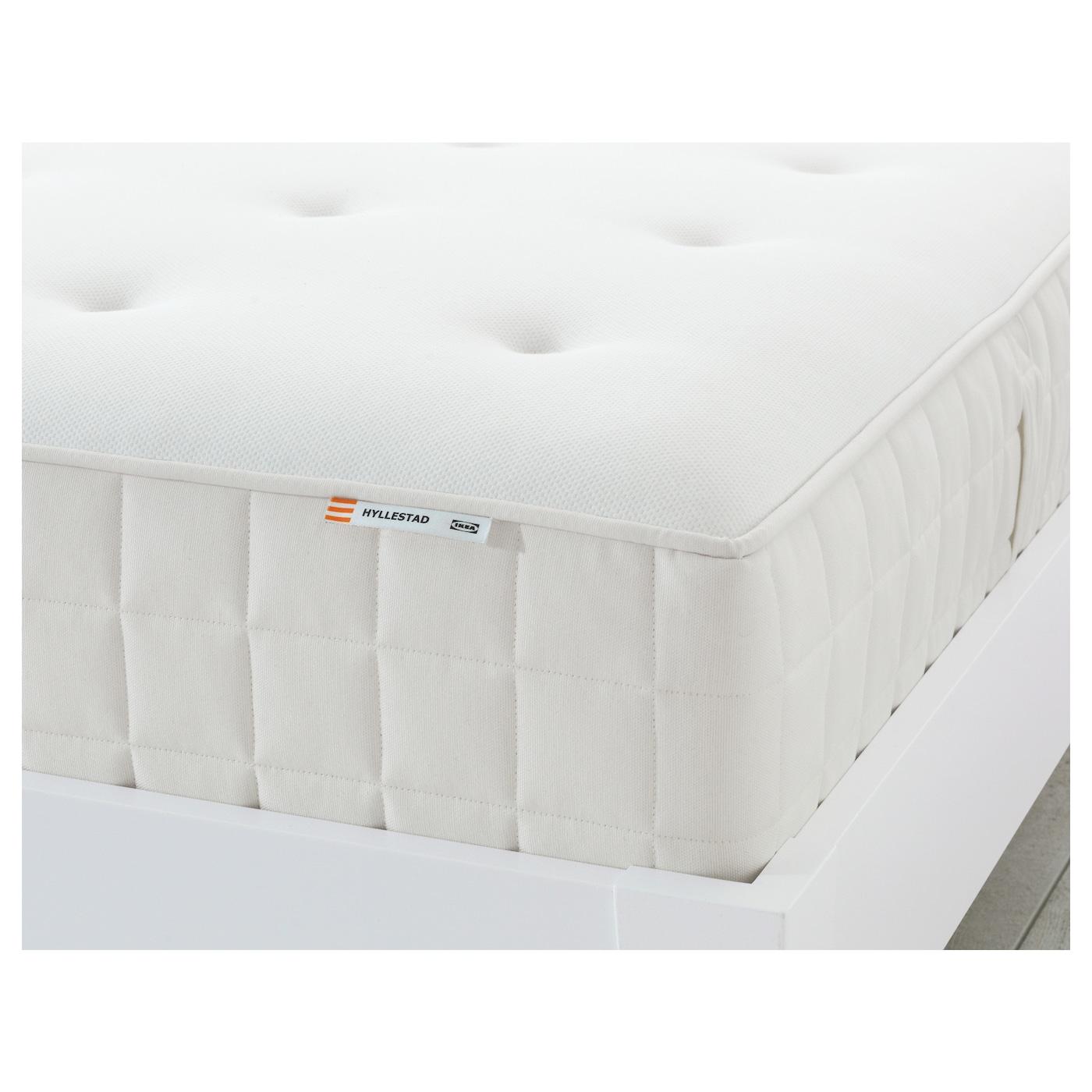 hyllestad matelas ressorts ensach s ferme blanc 90x200 cm ikea. Black Bedroom Furniture Sets. Home Design Ideas