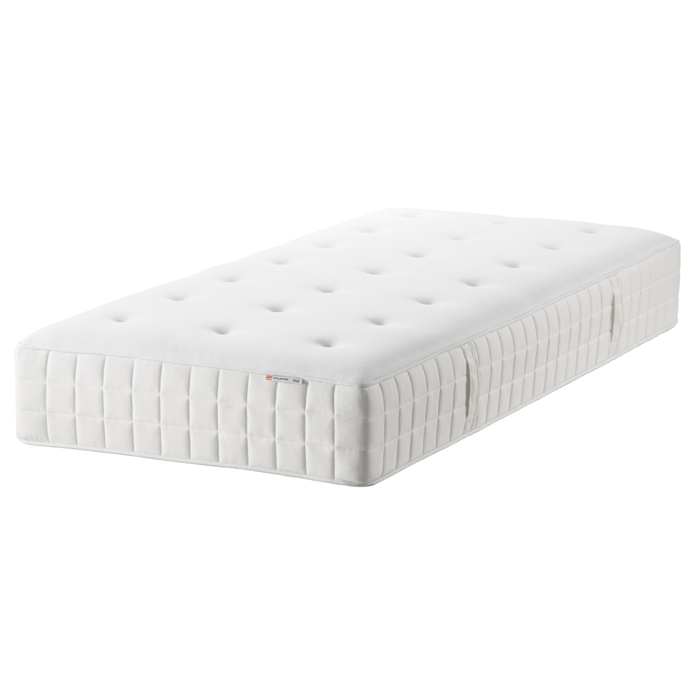 hyllestad matelas ressorts ensach s mi ferme blanc 90x200 cm ikea. Black Bedroom Furniture Sets. Home Design Ideas