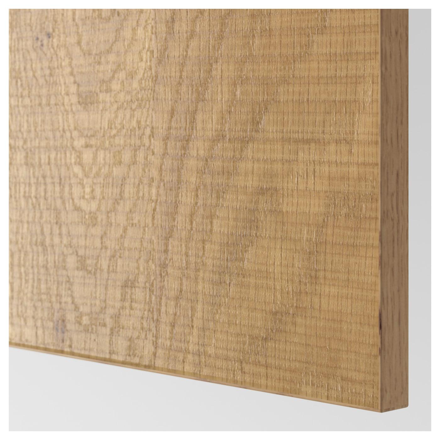 hyttan panneau lat ral de finition plaqu ch ne 62x240 cm ikea. Black Bedroom Furniture Sets. Home Design Ideas