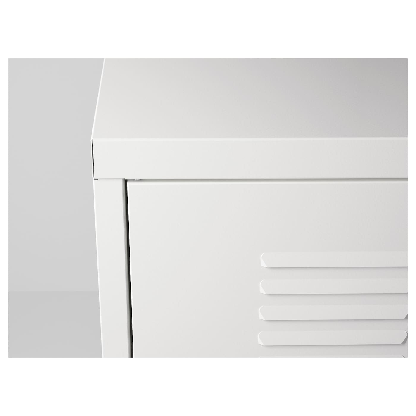 ikea ps armoire m tallique blanc 119 x 63 cm ikea. Black Bedroom Furniture Sets. Home Design Ideas