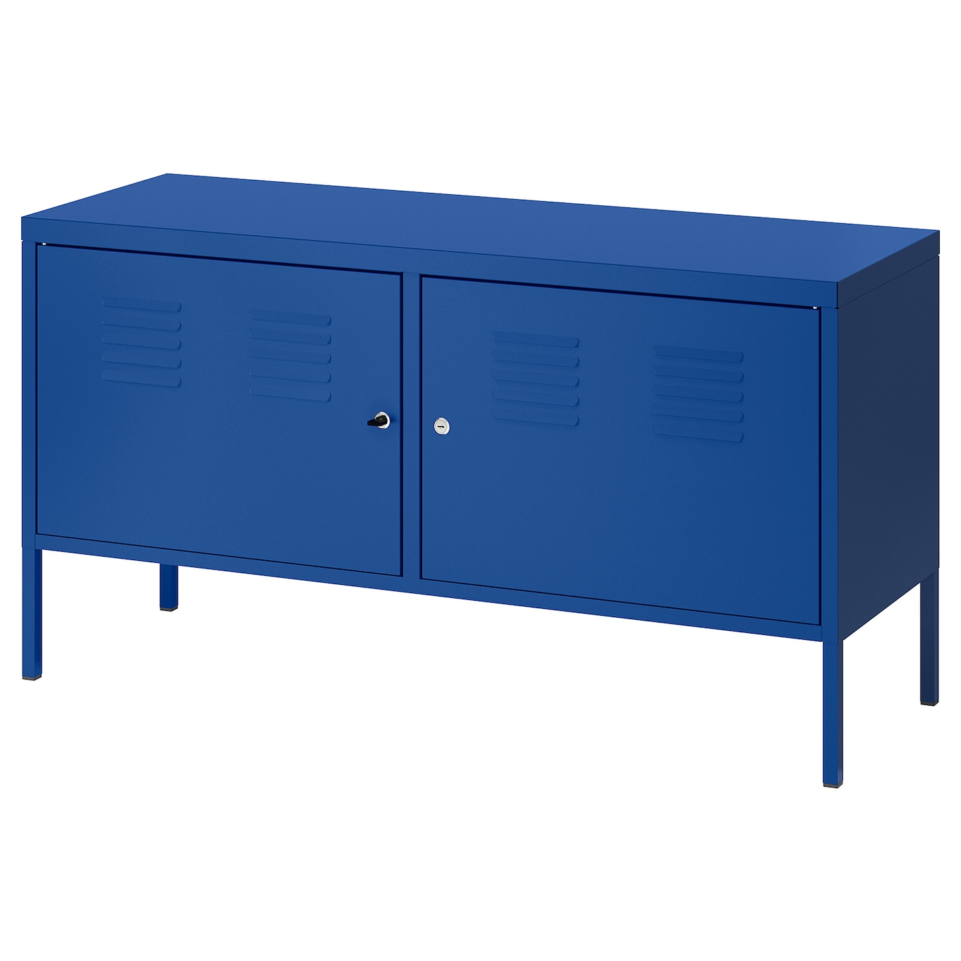 ikea ps armoire m tallique bleu 119 x 63 cm ikea. Black Bedroom Furniture Sets. Home Design Ideas