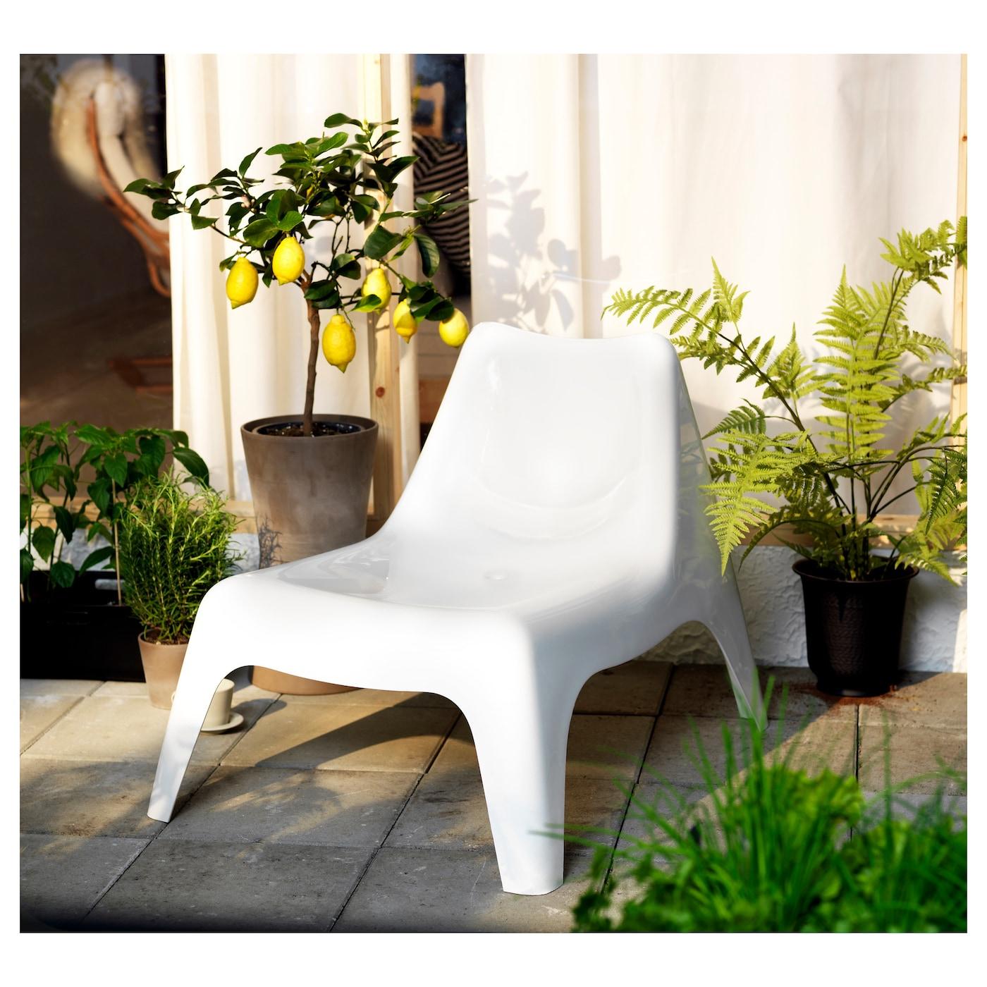 Ikea ps v g fauteuil ext rieur blanc ikea for Fauteuil jardin ikea