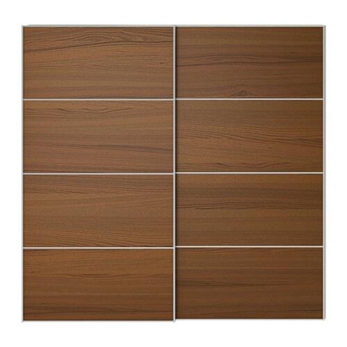 ilseng jeu 2 ptes coul 200x236 cm accessoire de fermeture silencieuse ikea. Black Bedroom Furniture Sets. Home Design Ideas
