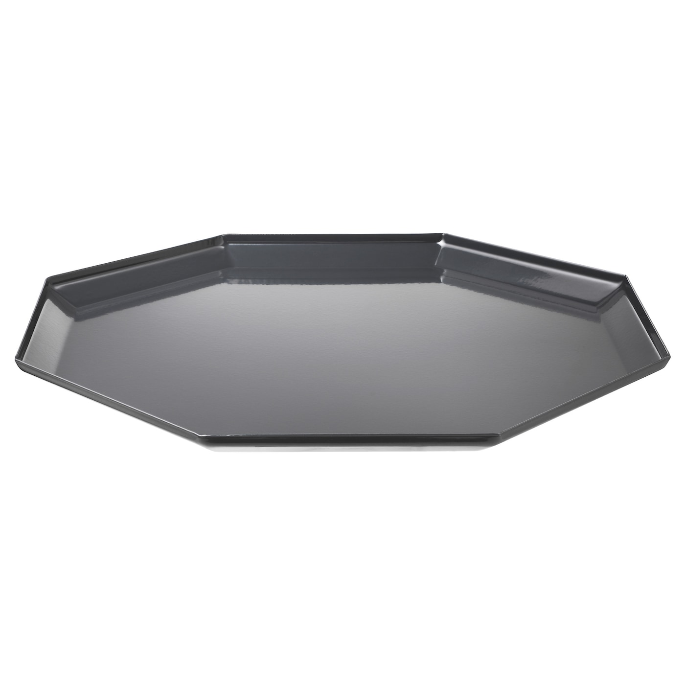 inf nga plat pour bougie gris 26 5 cm ikea. Black Bedroom Furniture Sets. Home Design Ideas