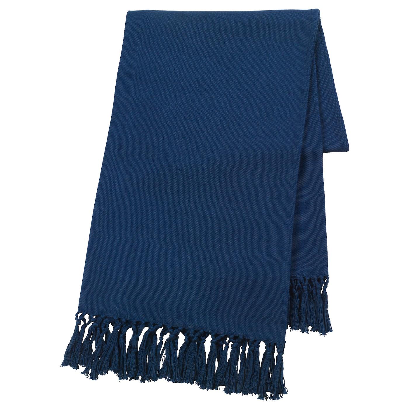 inneh llsrik housse de coussin fait main bleu 65x65 cm ikea. Black Bedroom Furniture Sets. Home Design Ideas