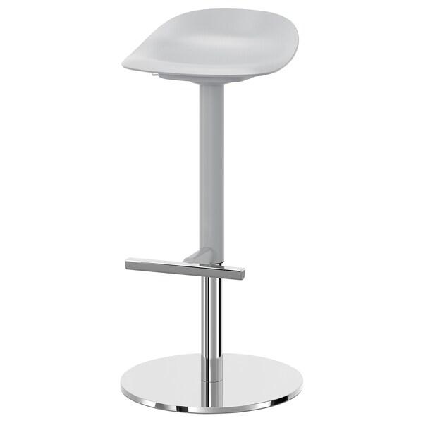Janinge Tabouret De Bar Gris Ikea