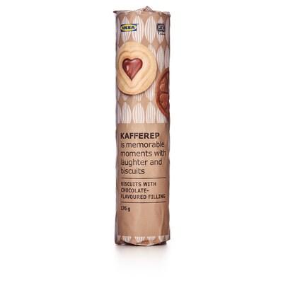 KAFFEREP Biscuits fourrés goût chocolat, certifié UTZ