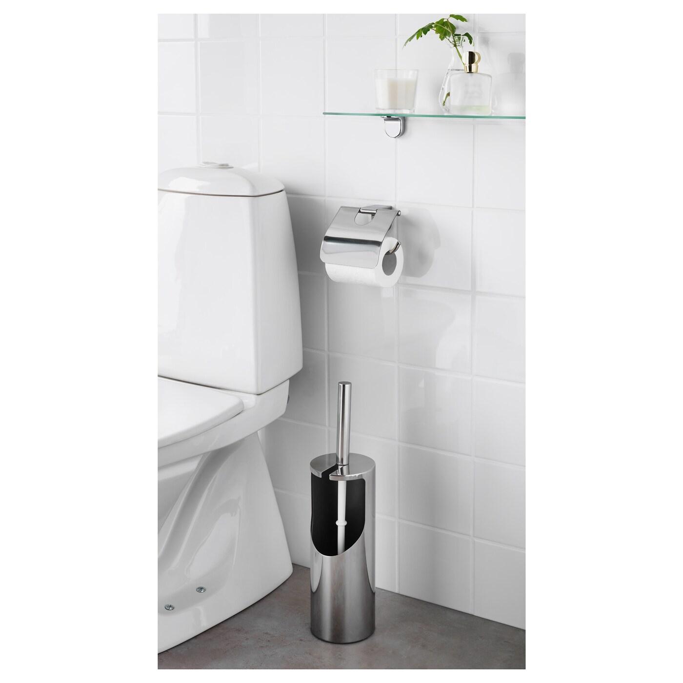 Kalkgrund porte rouleau wc chrom ikea for Porte rouleau wc