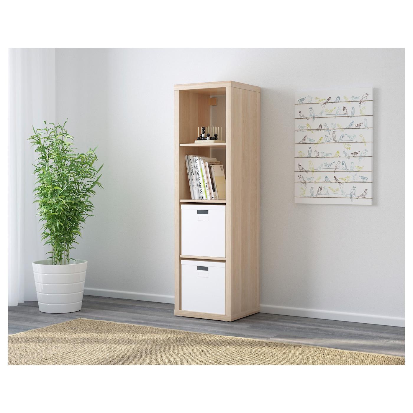 kallax tag re effet ch ne blanchi 42 x 147 cm ikea. Black Bedroom Furniture Sets. Home Design Ideas