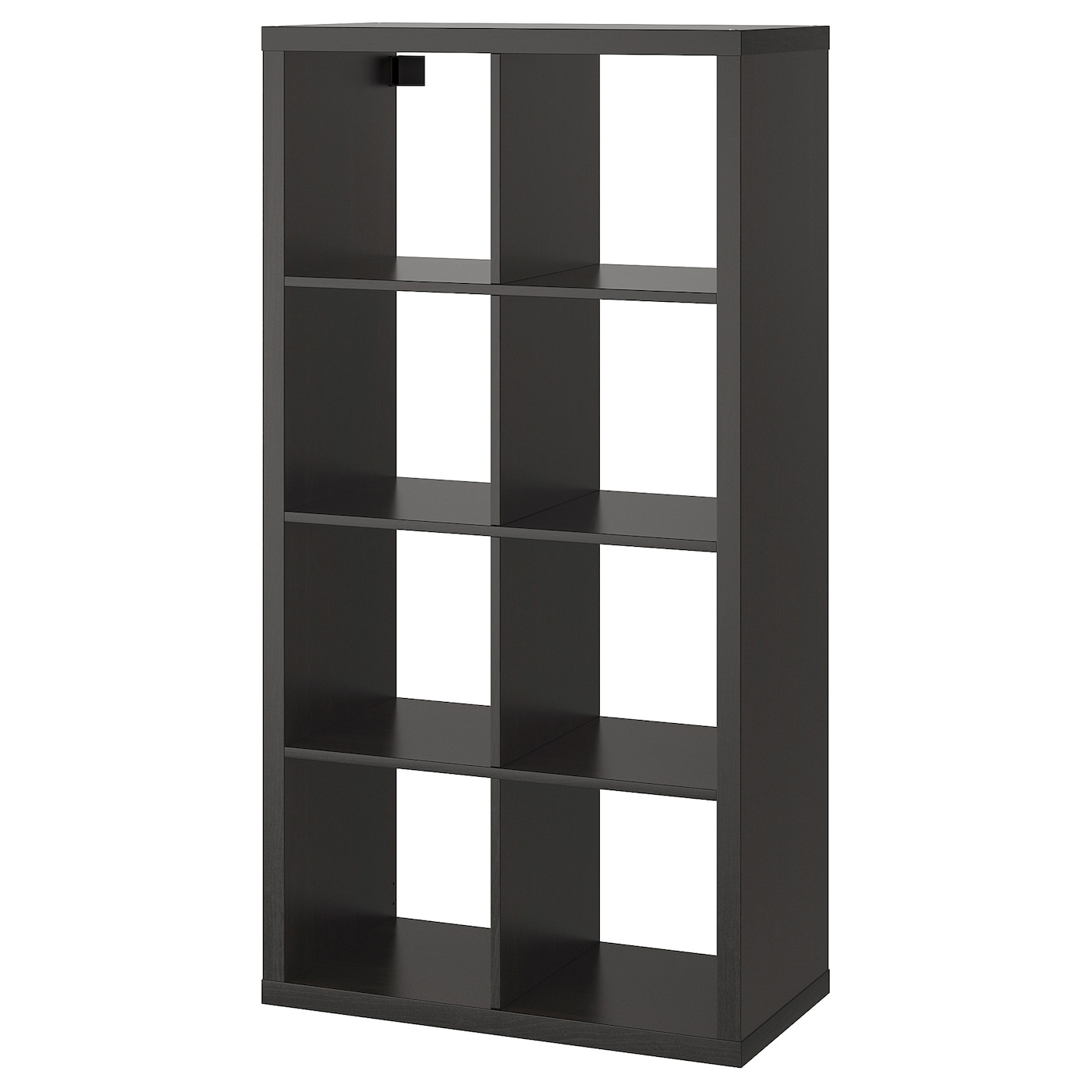 Kallax Etagere Brun Noir 77x147 Cm Ikea