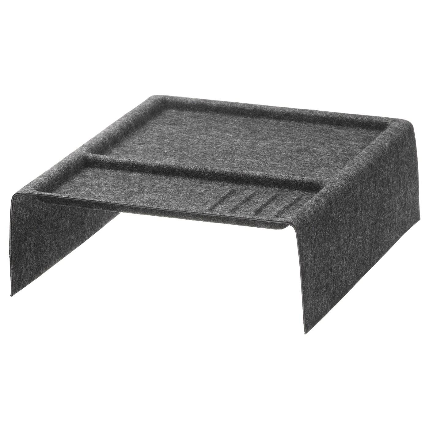 kallax rangement casiers gris fonc ikea. Black Bedroom Furniture Sets. Home Design Ideas