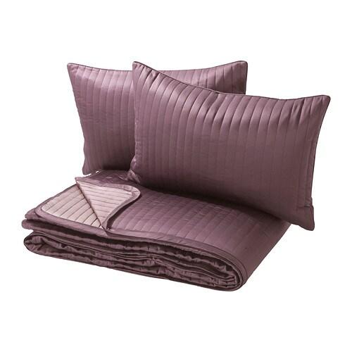 karit couvre lit et 2 housses coussin 260x280 40x65 cm ikea. Black Bedroom Furniture Sets. Home Design Ideas